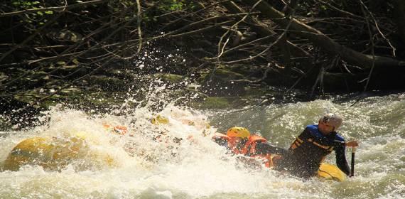 Düzcede Rafting Sporu ve Etkileri