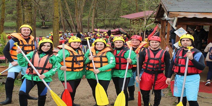 rafting nerede yapılır